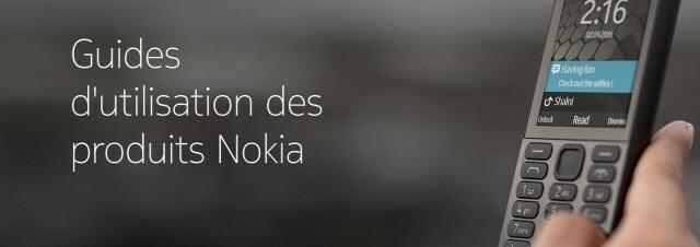 Guides Utilisateurs Nokia