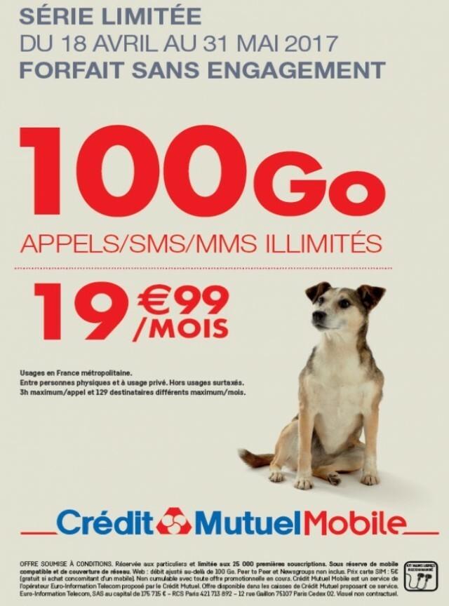 Visuel Crédit Mutuel Mobile