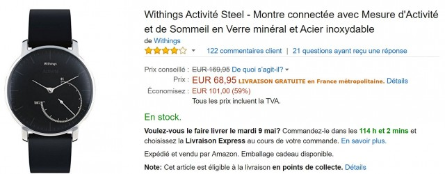 withings steel promo