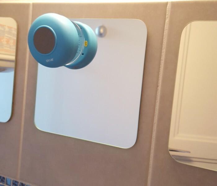 Test de l'enceinte Bluetooth Olixar AquaFonik pour la Douche