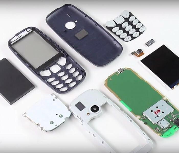 [Vidéo]  Démontage du Nokia 3310