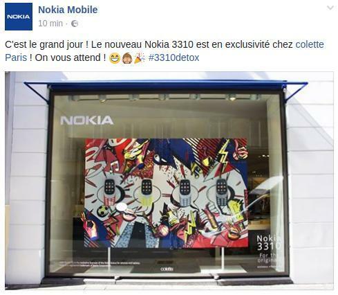 Nokia 3310 Colette Paris