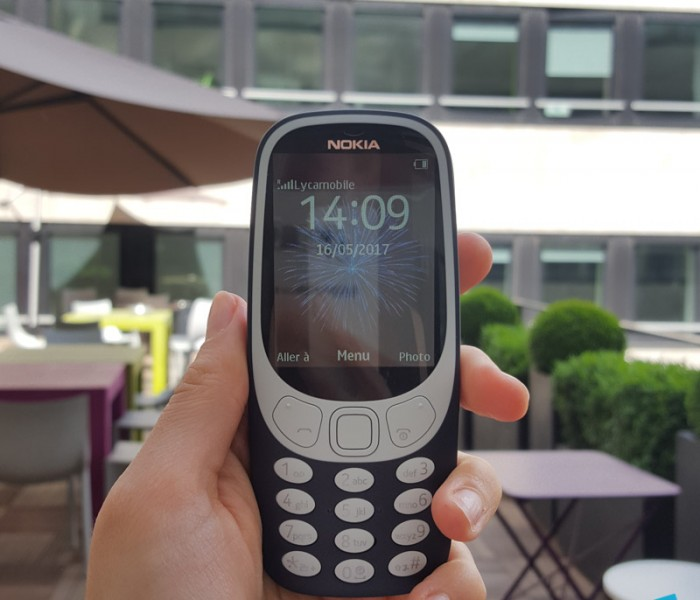 [Unboxing]  Quelques photos du Nokia 3310 version 2017