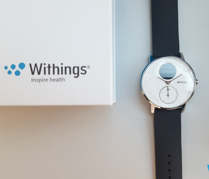 [Unboxing]  Photos du déballage de la Withings Steel HR