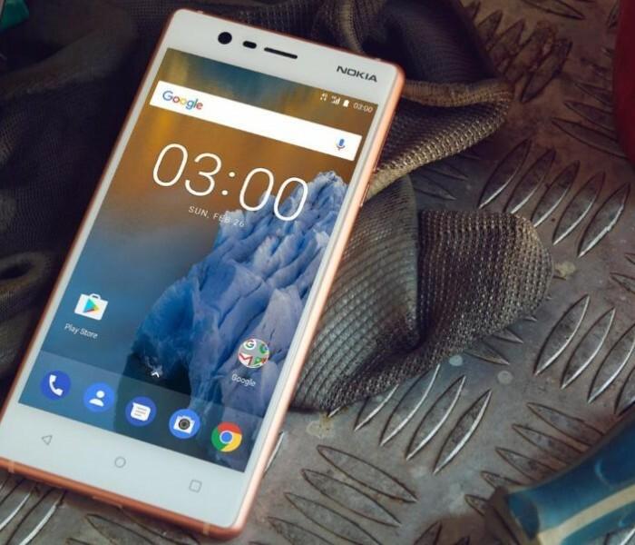[Amazon]  Nokia 3 en précommande dans toutes les couleurs