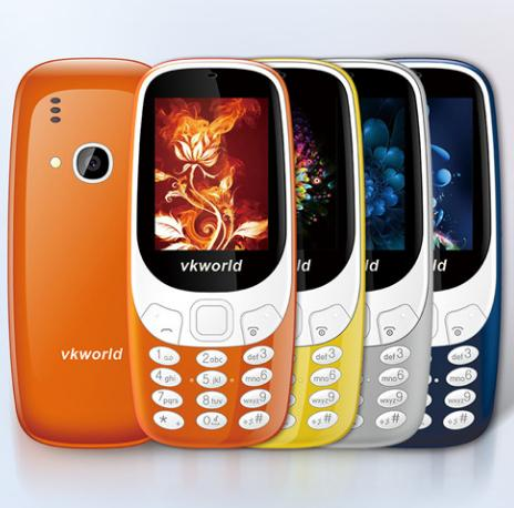 VKworld copie le nouveau Nokia 3310 sans complexe (et en mieux) !