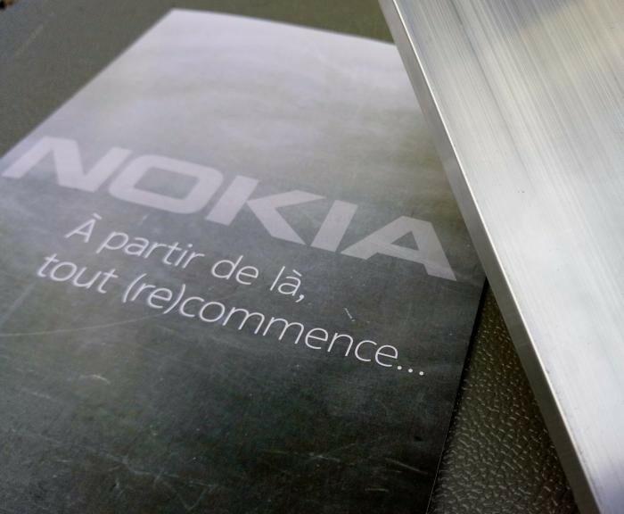 Kit presse pour le lancement des nouveaux smartphones Nokia