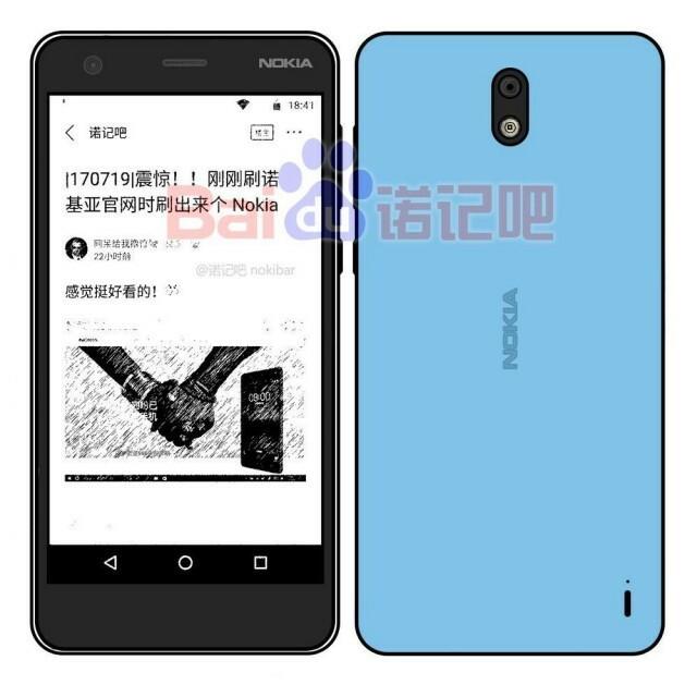 Nokia 2 Dessin