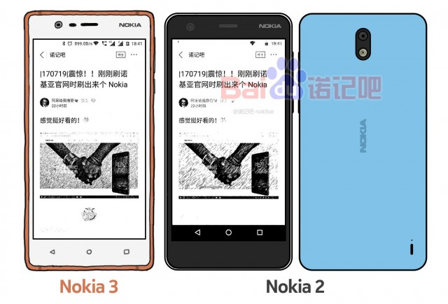 Nokia 2 Scretch