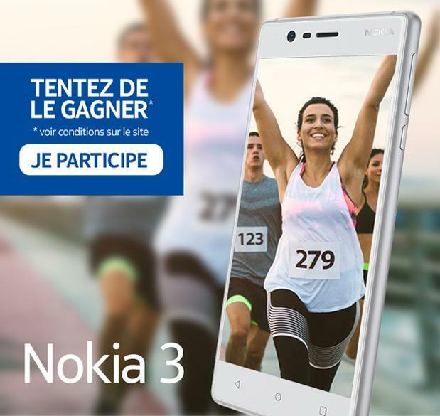 [Concours]  Tentez de gagner un Nokia 3 avec le Club Europe 1 !