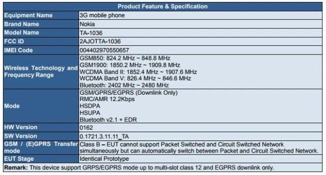 Nokia 3310 3G FCC CE 2