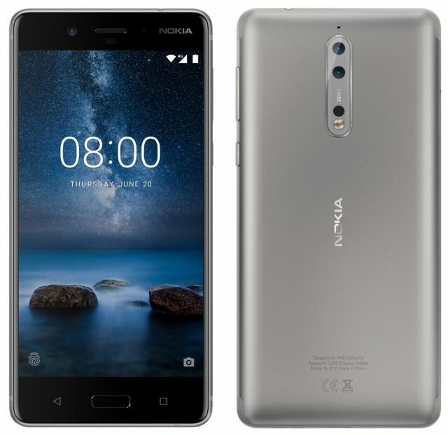 Nokia 8 Argent