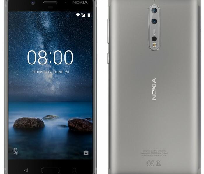 [Fuite]  Rendu du Nokia 8 version argent !