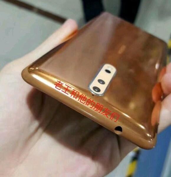 [Fuite]  Nouvelles photos du Nokia 8 !