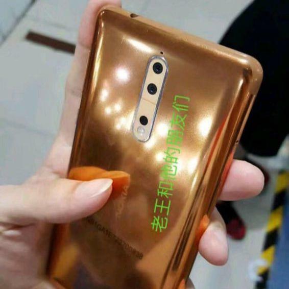 HMD pourrait annoncer un Nokia 8 version Or / Cuivre !