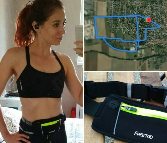 Test de la banane de sport FREETOO – idéale pour le jogging