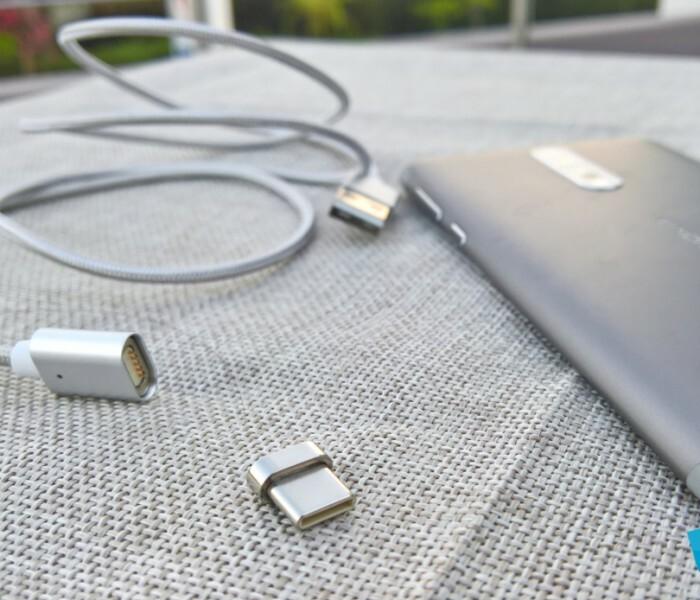 Test du câble magnétique USB Type-C de NetDot