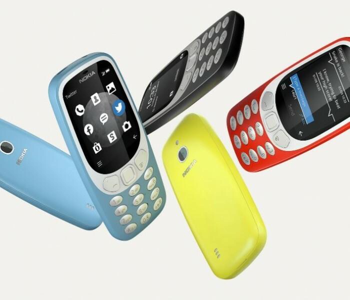 Nokia 3310 dans le top des recherches Google en 2017