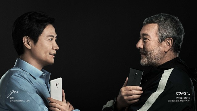 CEO Xiaomi and Philippe Starck