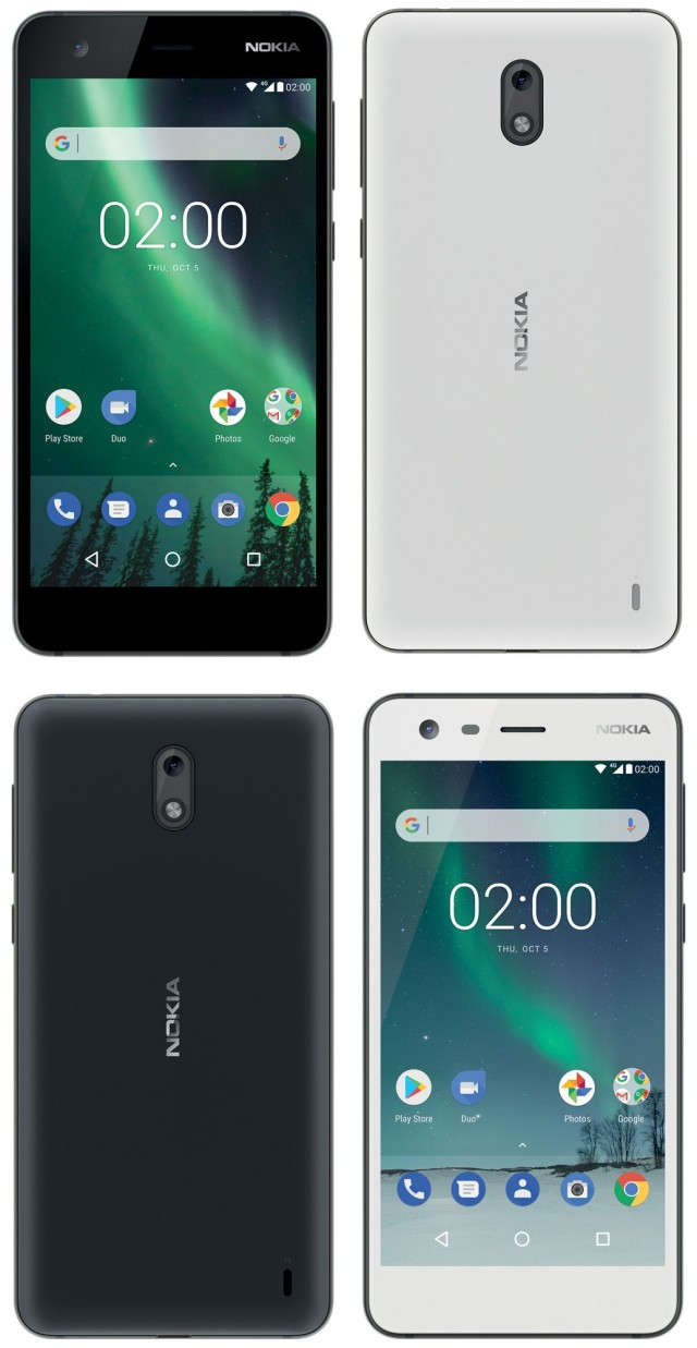 Nokia 2 Rendus