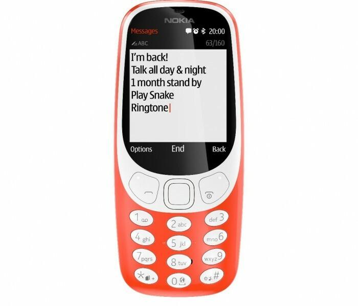 Nokia 3310 : Le téléphone le plus vendu en Europe de l'ouest au second trimestre
