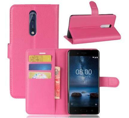 Nokia 8 étui porte carte