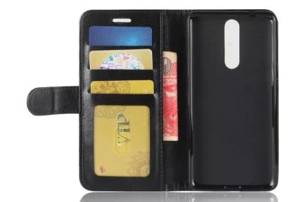 Nokia 8 étui cuir et carte