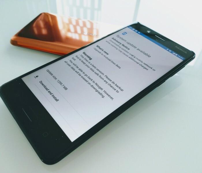 Nokia 8 : Android Oreo est en phase beta (interne)