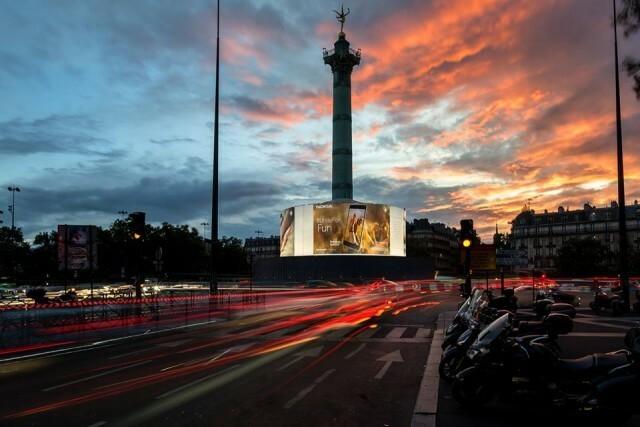 Nokia 8 Place de la Bastille Paris 1