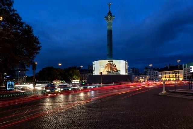 Nokia 8 Place de la Bastille Paris 3