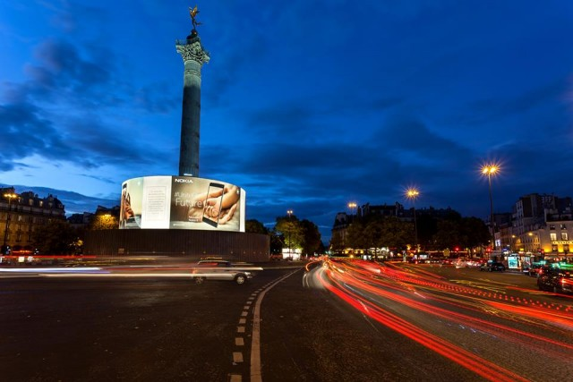 Nokia 8 Place de la Bastille Paris 4