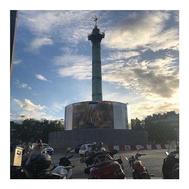 Nokia 8 Place de la Bastille Paris