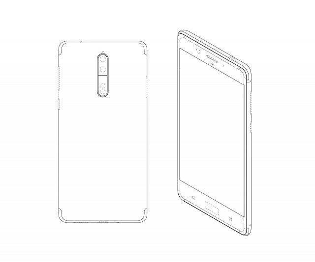 Nokia-8-design-patent