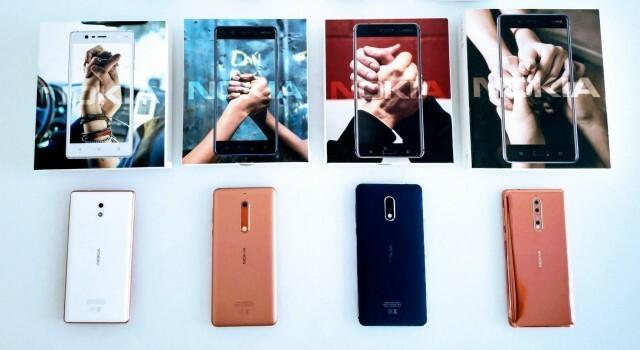 Nokia Range and boxes 2017