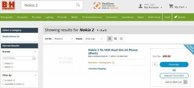 Nokia 2 B&H