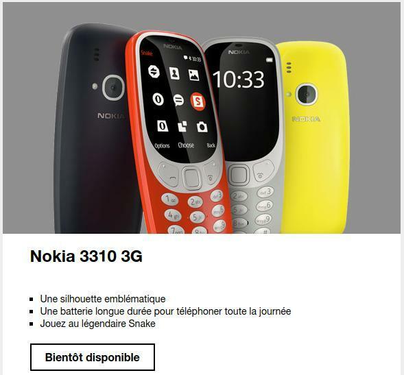 Nokia 3310 3G Orange