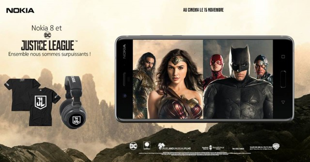 Nokia Mobile France Justice League