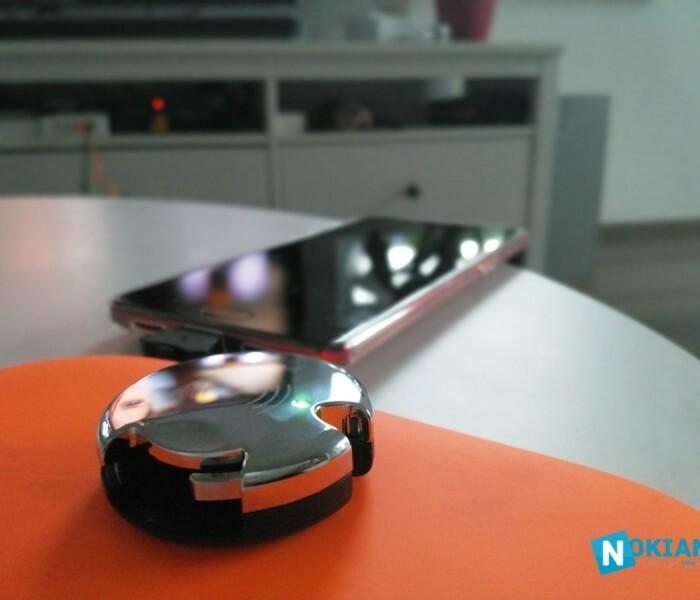 [Test]  L'AirCharge qui transmet le chargement sans fil Qi à votre mobile