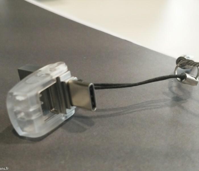Test de la clé USB et USB-C Kingston 32 Go