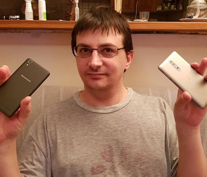 [ITW of the week]  Mickaël et son Nokia 8