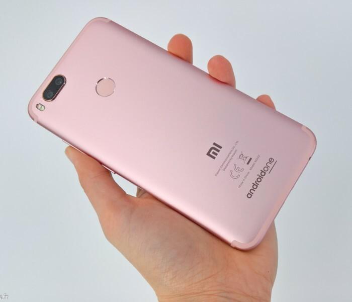Unboxing et présentation du Xiaomi Mi A1