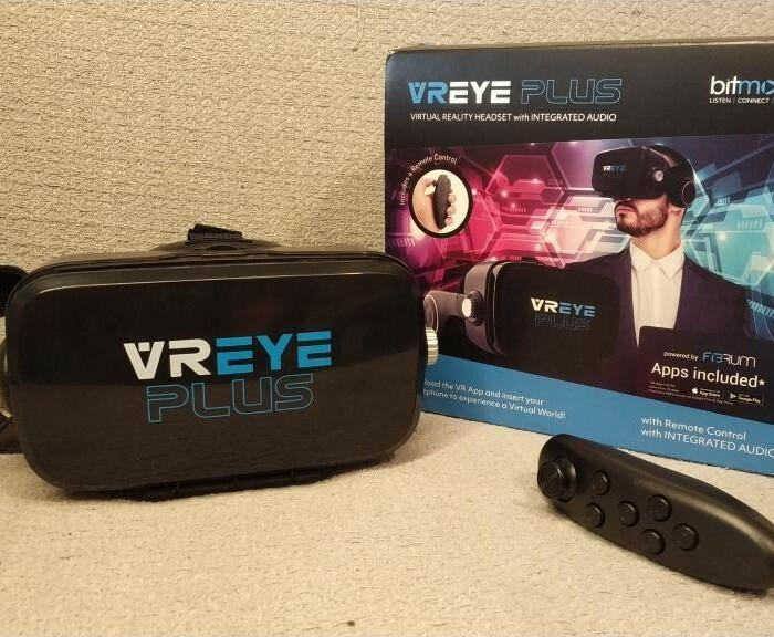 [Test]  Casque VR Universel Bitmore Eye Plus avec Télécommande Bluetooth