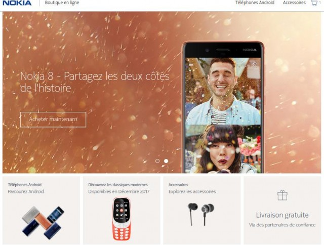 Nokia Phones boutique en ligne
