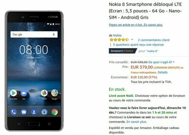 Nokia 8 Amazon