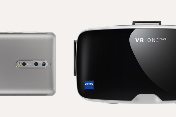 Nokia 8 Zeiss VR One plus