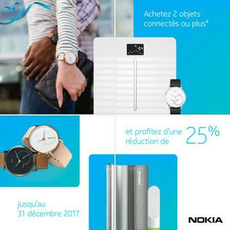 [Offre]  Nokia Health : 25% de réduction sur votre commande dès 2 produits achetés