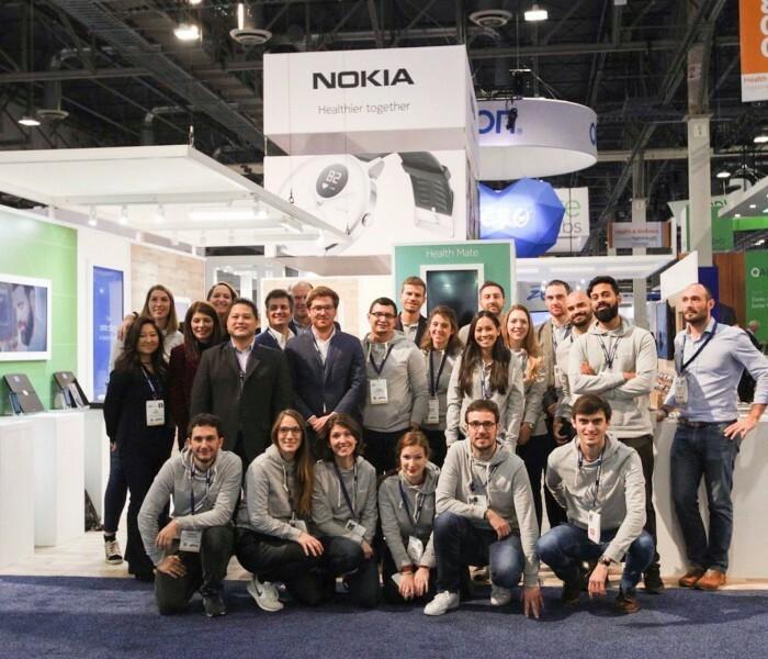 [Photos]  Visite du stand Nokia Health au CES