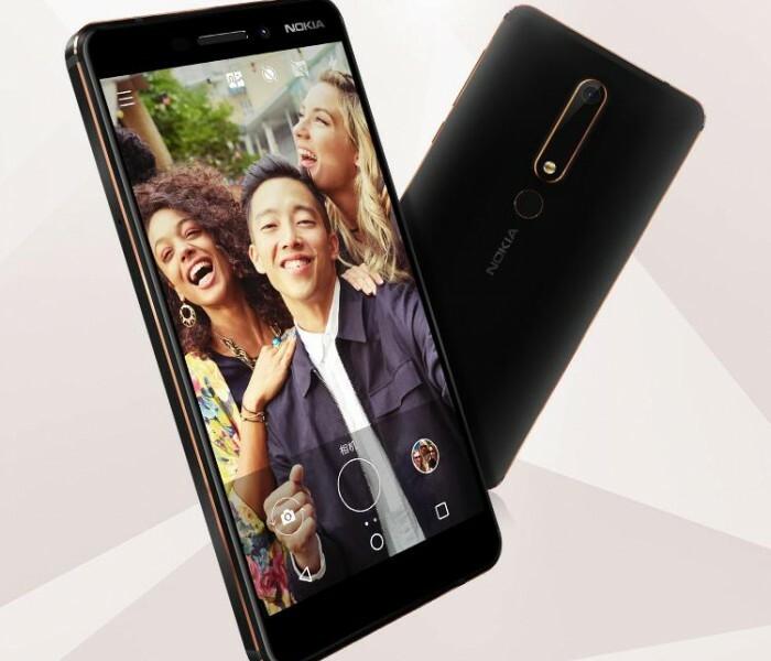 Le Nokia 6 (2018) est officiel !