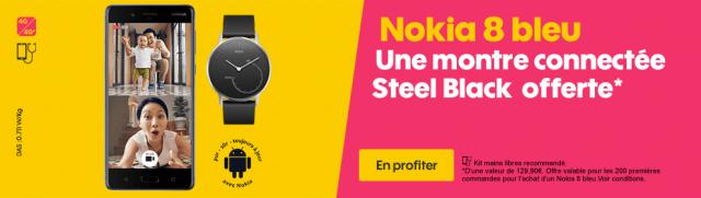 Nokia 8 Bleu Steel