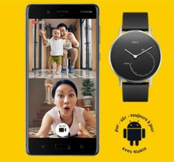 [Bon Plan]  Une montre Nokia Steel offerte pour l'achat d'un Nokia 8 chez Sosh